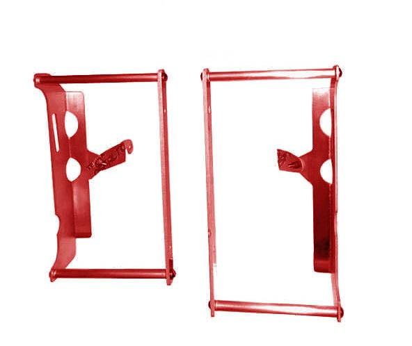 Proteção Radiador (Envolvente) CRF450 R 06/08 Alumínio Vermelho