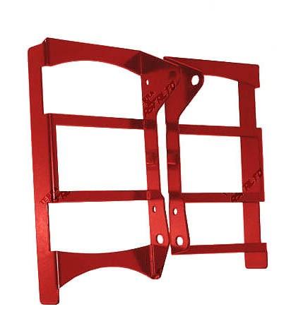 Protetor de Radiador Lateral Frontal CRF450 R 2013/14 Alumínio Vermelho
