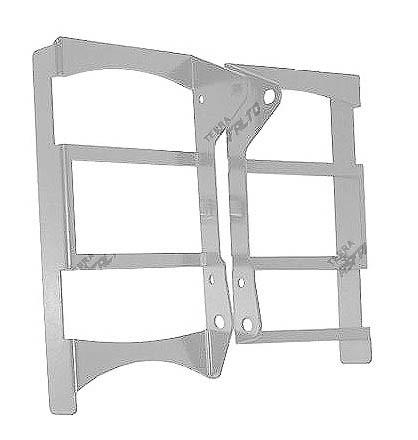 Protetor de Radiador Lateral Frontal CRF450 R 2013/14 Alumínio Polido