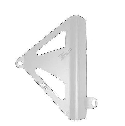 Protetor de Radiador Lateral MX CRF250 2010/13 Alumínio Polido