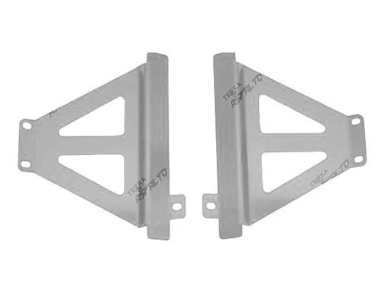 Protetor de Radiador Lateral MX CRF250 R 2014/15 Alumínio Polido
