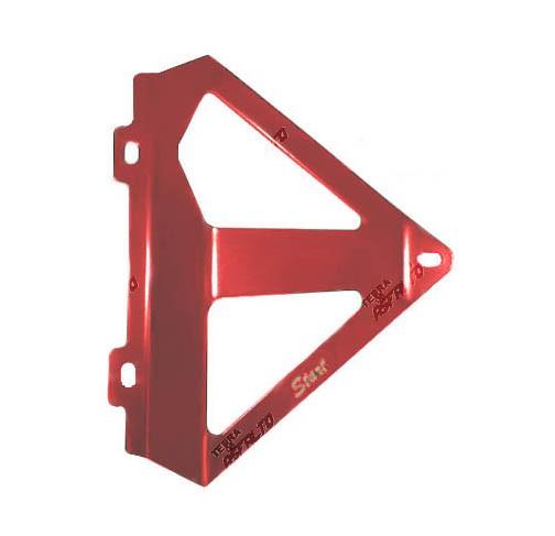 Protetor de Radiador Lateral MX CRF250 R/X 06/09 Alumínio Vermelho