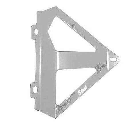 Protetor de Radiador Lateral MX CRF250 R/X 06/09Alumínio Polido