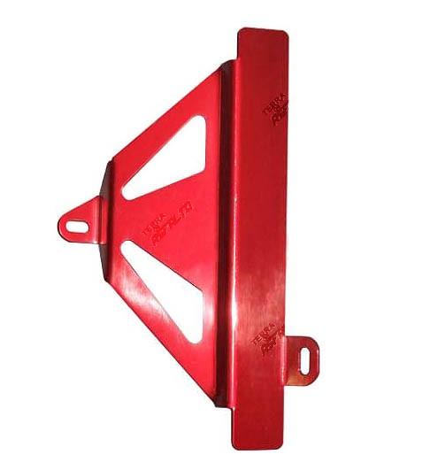 Protetor de Radiador Lateral MX CRF450 R 2009/12 Alumínio Vermelho