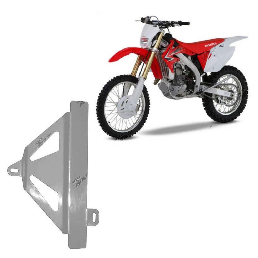 Protetor de Radiador Lateral MX CRF450 R 2009/12 Aluminio Polido