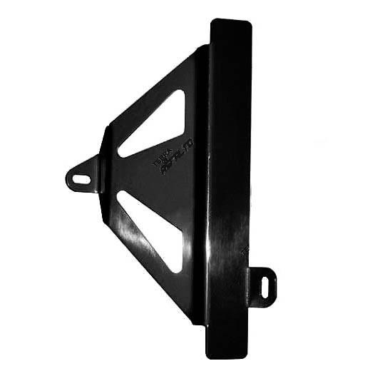Protetor de Radiador Lateral MX CRF450 R 2009/12 Alumínio Preto Epoxi