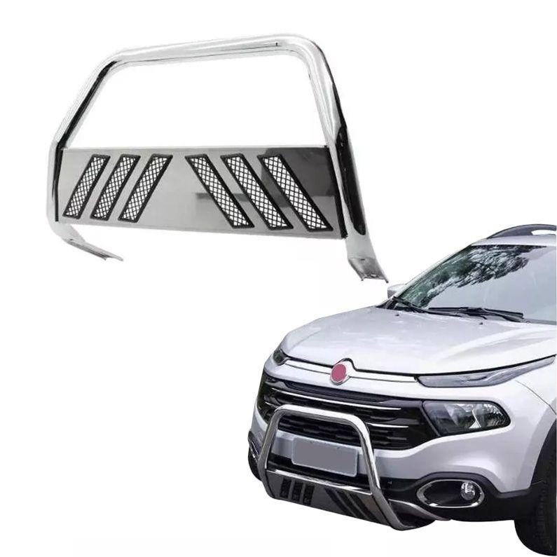 Quebra Mato Cromado Fiat Toro 4X2 Flex - Bepo