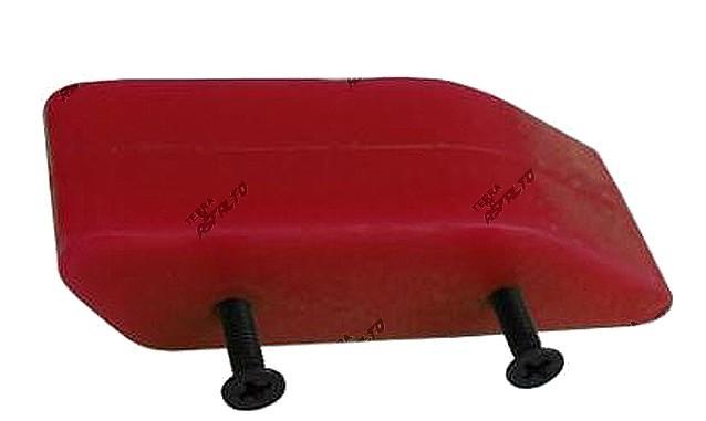 Refil Inferior Guia de Corrente (Guia com Logo Star em Alto Relevo) PU Vermelho Honda CR 125/250/230/450