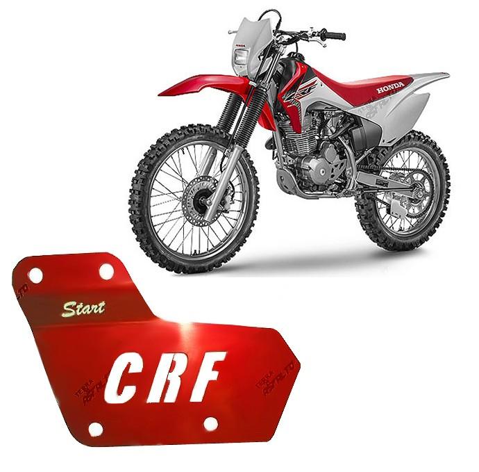 Reforço Guia de Corrente Alumínio Vermelho CRF230