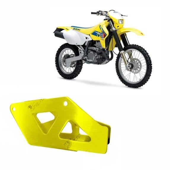 Suporte Guia de Corrente Alumínio Amarelo DRZ400 RM/RMZ 250/450