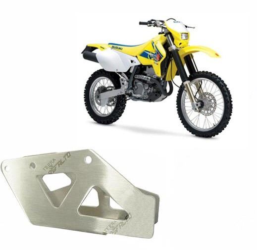 Suporte Guia de Corrente Alumínio Escovado DRZ400 RM/RMZ 250/450