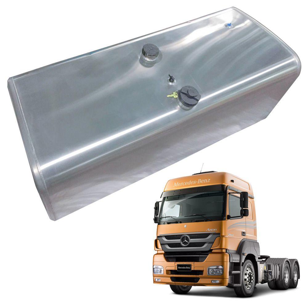 Tanque de Combustível em Alumínio para Mercedes Benz Axor LD 300L