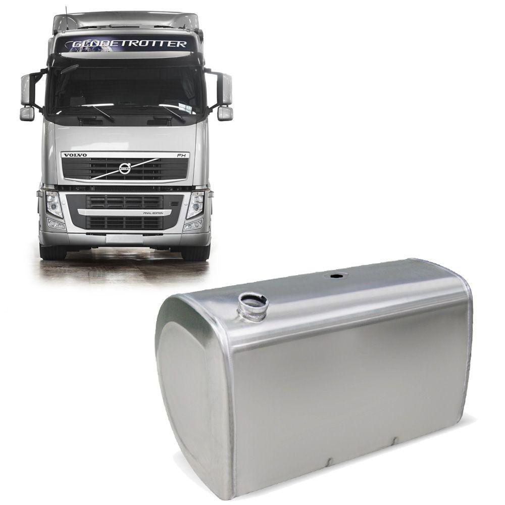 Tanque De Combustível Em Alumínio Volvo Fh (Tipo D) Completo 450L
