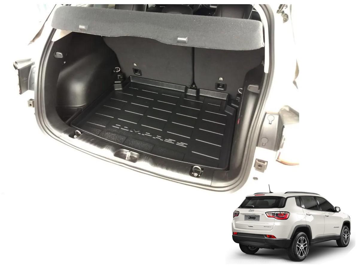 Tapete Bandeja Protetor Porta Malas Jeep Compass 2017 A 2020