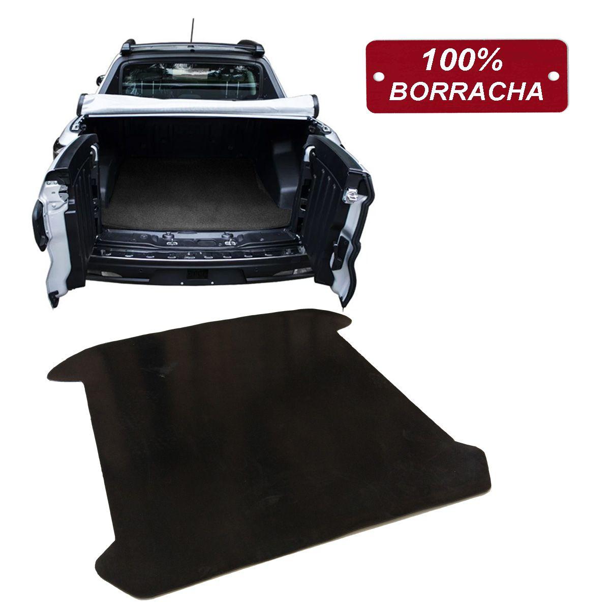Tapete de Borracha para Caçamba Fiat Toro 2017 2018 2019