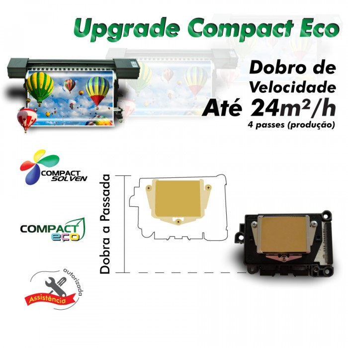UPGRADE Compact ECO/Cabeça Epson DX7