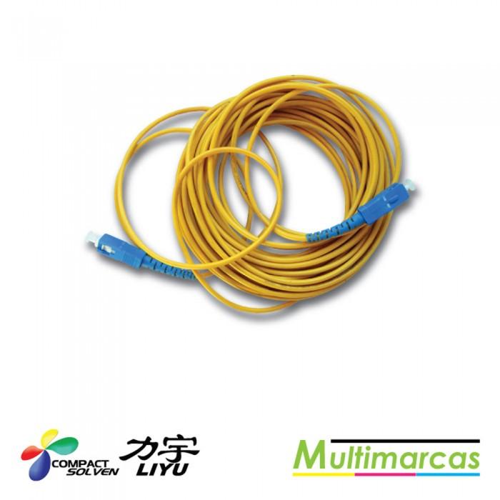 Cabo Fibra Otica 1X - Conector Quadrado