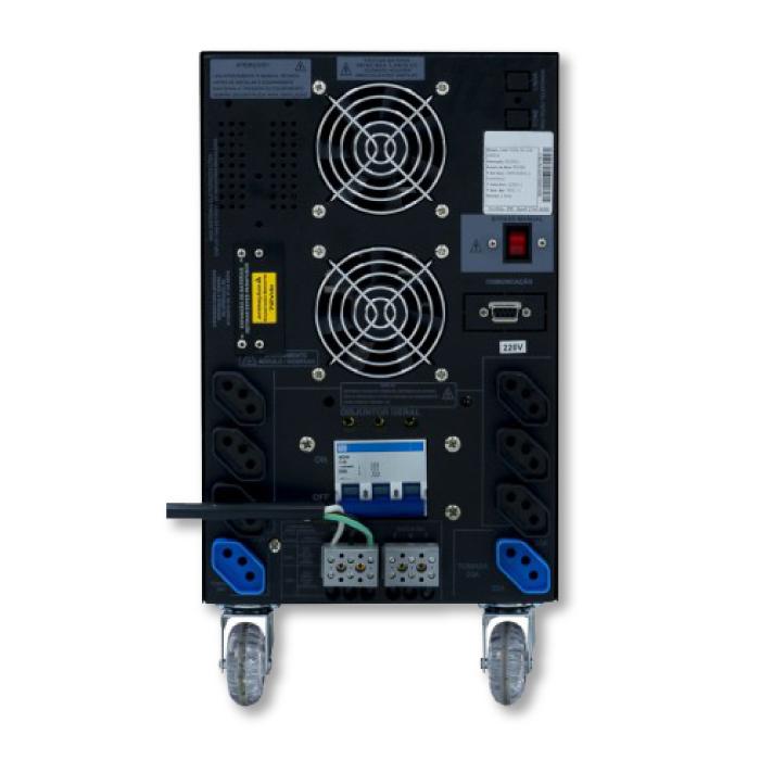 No-break Compact Power 5kVA Dupla Conversão  - Meu Plotter
