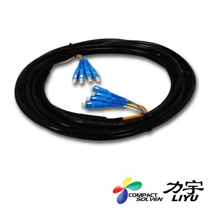 Cabo de fibra ótica 4X ( 4FB )