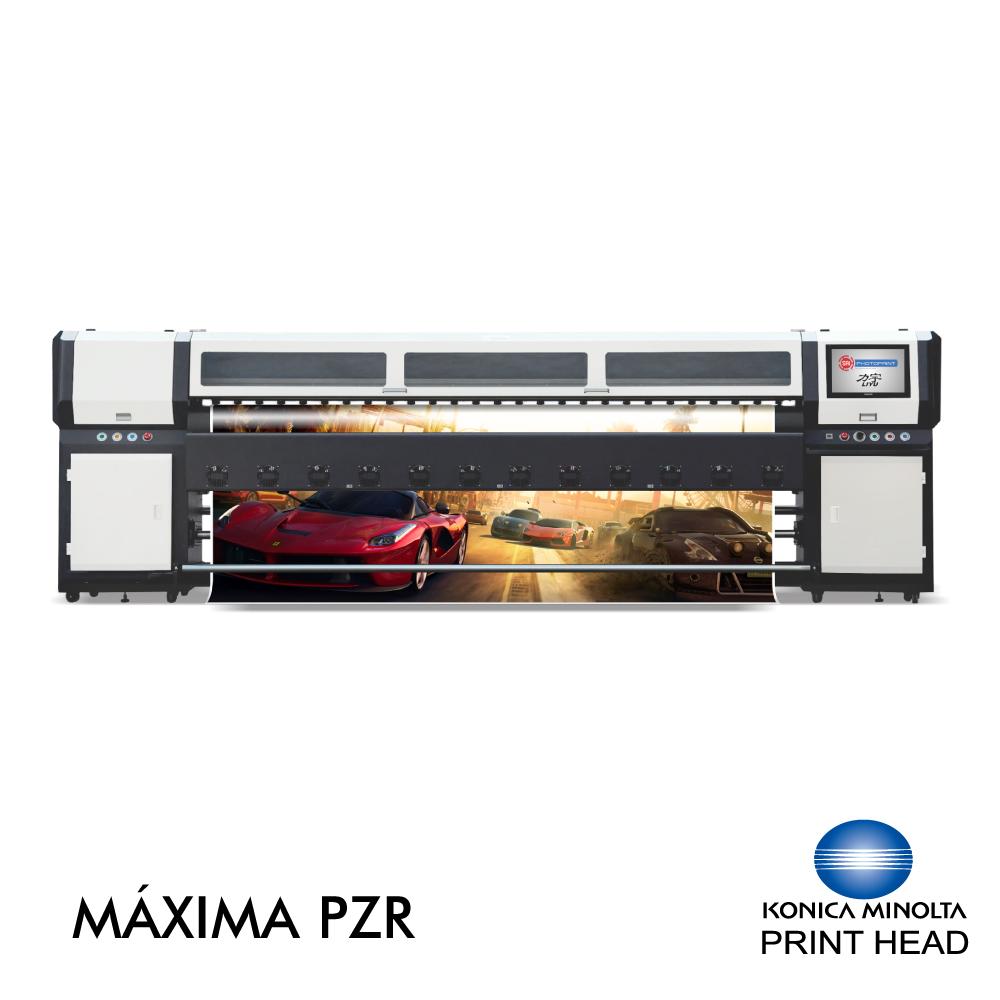 Plotter de Impressão Solvente MAXIMA PZR 3204