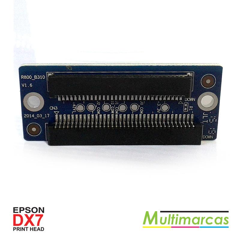 Placa de conexão DX7