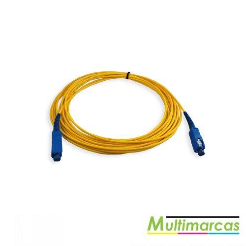 Cabo de fibra ótica 1X - conector quadrado  - Meu Plotter