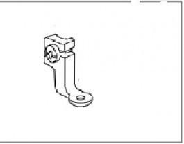 Calcador para máquina de bordar JANOME MC 200E / ELNA 8100
