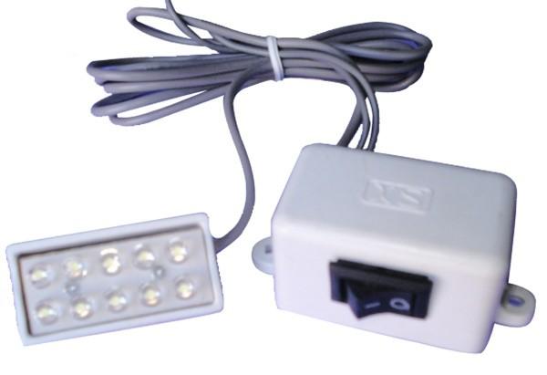 Luminária para máquinas 10 LEDs