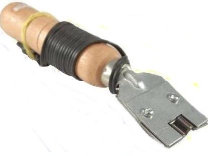 f0e6a182a Aparelho para frisar chinelos - Aplicação de Strass