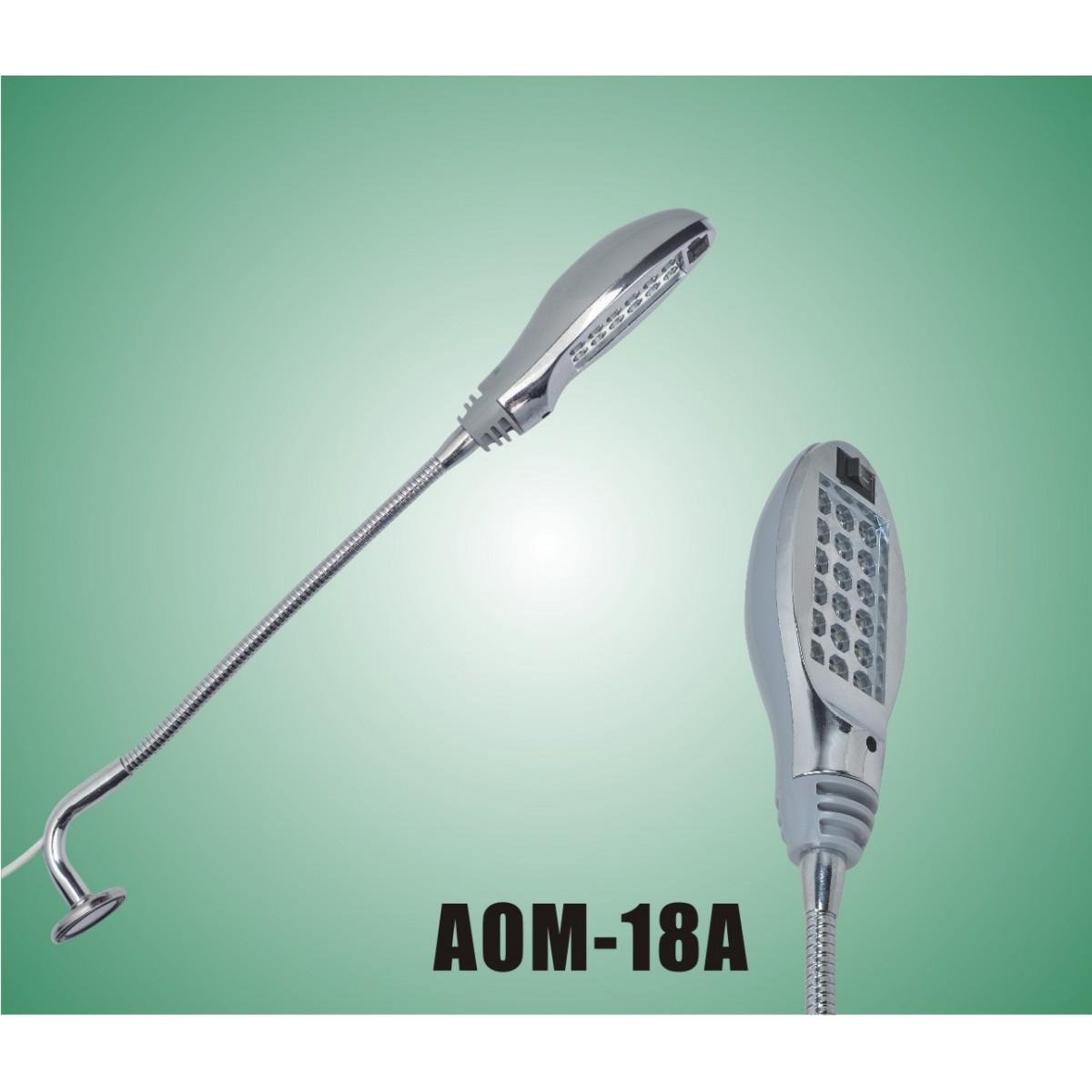 Luminária 18 Leds com imã e chave de ligação