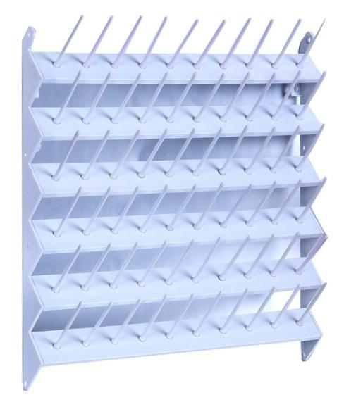 Suporte de parede para 60 cones de linha.