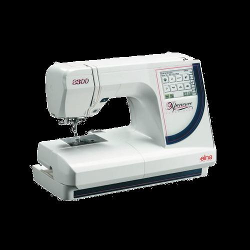 Máquina de Bordar ELNA 8300 - 100 Bordados na memória, área de 14x20cm, Bivolt