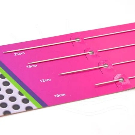 Agulhas para Boneca Kit com 4 agulhas