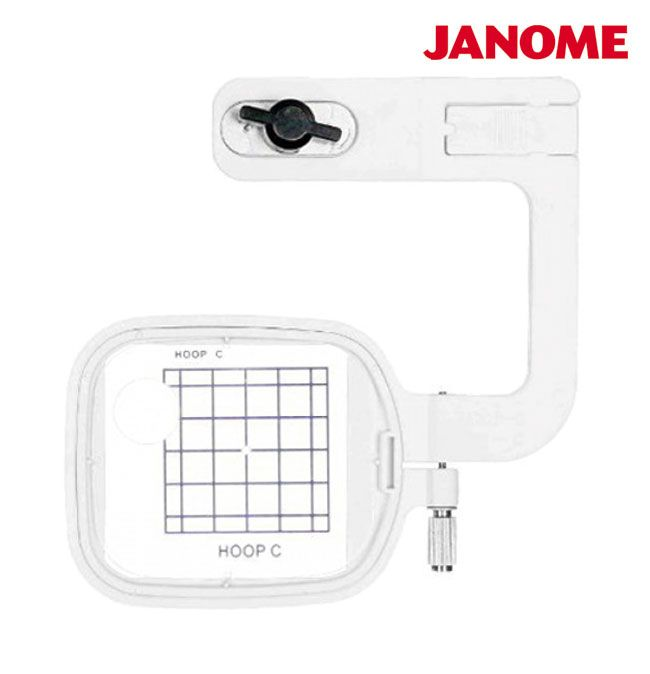 Bastidor de Bolso 5x5 cm para JANOME MC 350 - MC 370 - e ELNA 8300 - BERNINA