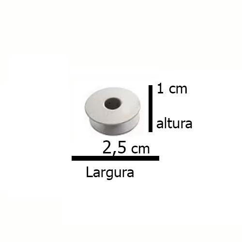 Bobina / Carretilha / Canelinha Grande p/ Maqs. Transporte Duplo 0302 - 10 Unidades