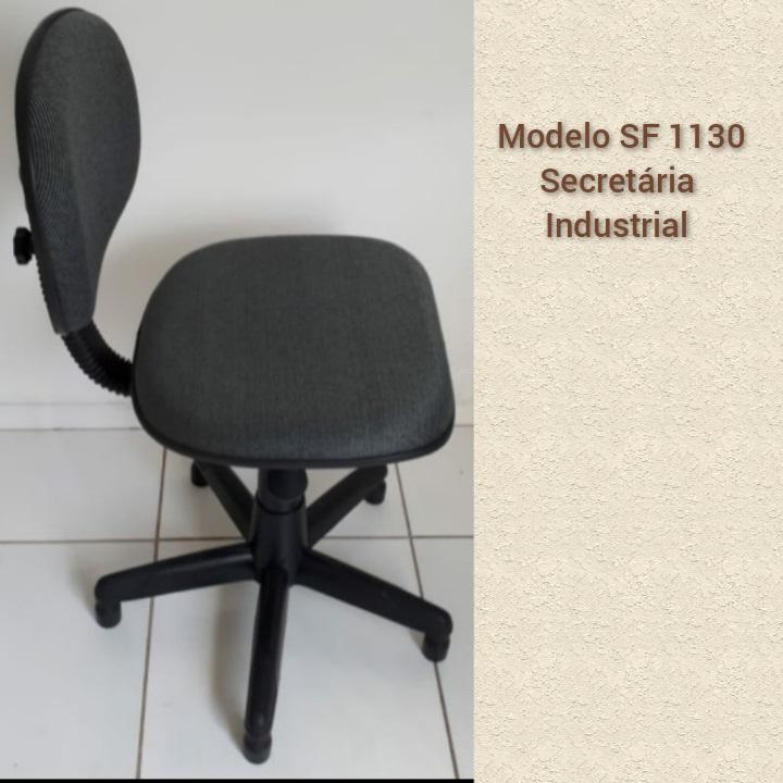 Cadeira para Costura - Modelo Secretária industrial