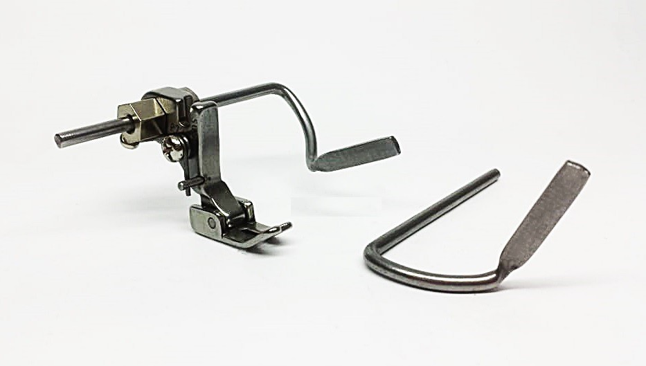 Calcador Matelassê com 2 guias para Reta Industrial