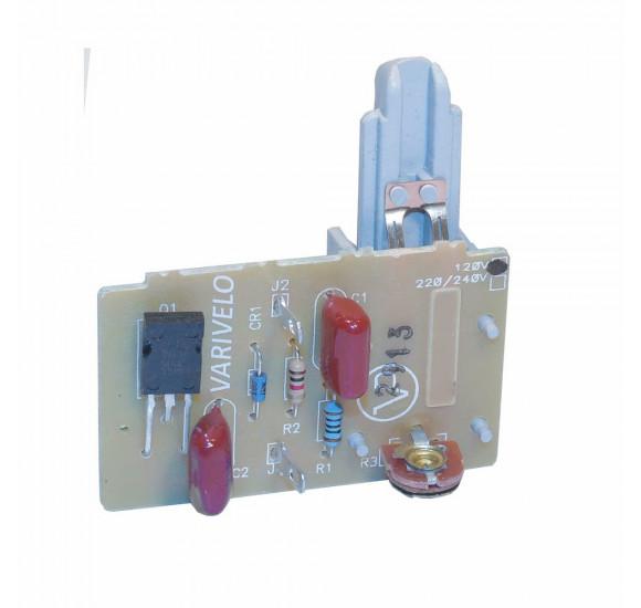 Circuito eletrônico Reostato para pedal acelerador de máquinas de costura