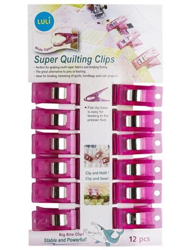 Clips para Quilting e Patchwork - Sew Mate 12UN