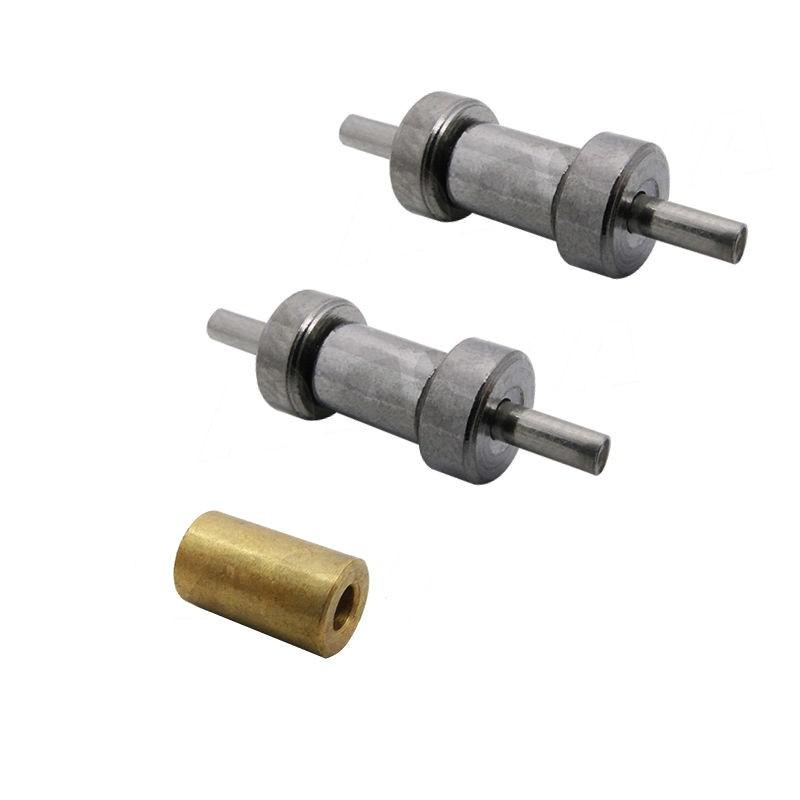 Conjunto de Rodízios (roletes) para máquina de corte Disco RC100 - S163/S180
