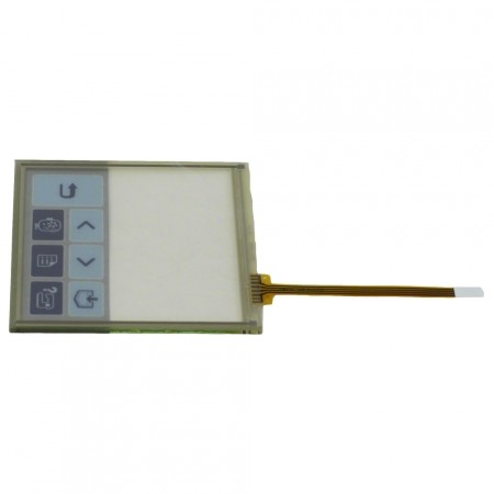 Conjunto do painel de Toque LCD BROTHER PE 770 / Tela touch - XD0338057