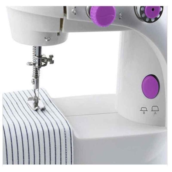 Máquina de Costura Reta Portátil, Bivolt com pedal Westpress West222
