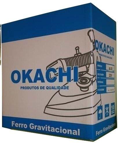 Ferro de passar Roupas Profissional Okachi  2,100 kg - Leve
