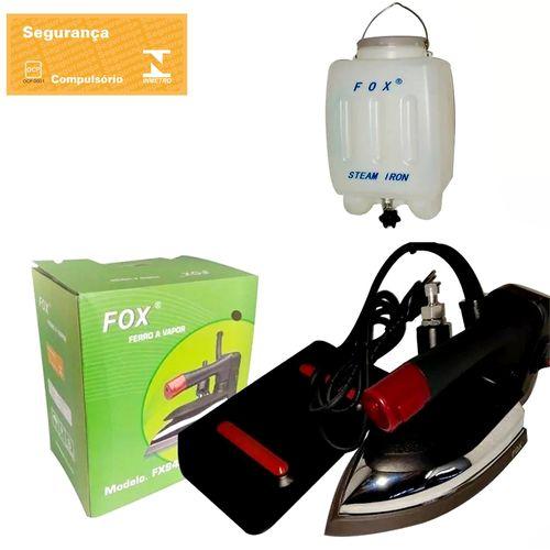 Ferro de passar Roupas Profissional a vapor FOX FX94A - para uso Profissional ou Doméstico.