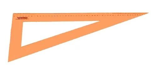 Kit conjunto de régua para costura cor Laranja