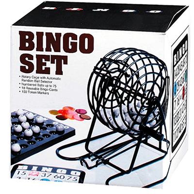 Kit Jogo de Bingo com fichas e Tabuleiro