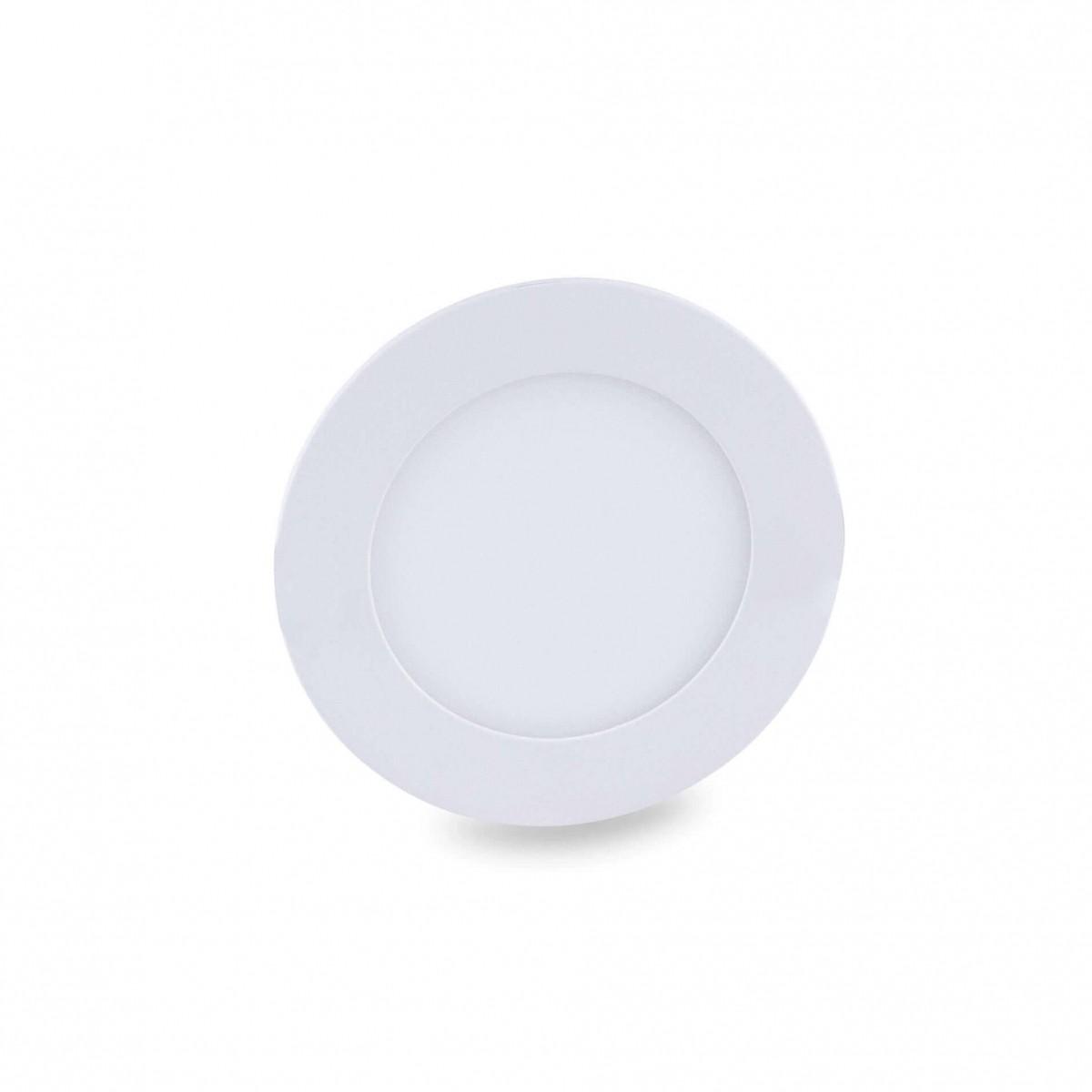Luminária Led Plafon de Embutir - Luz ( Branco Quente)