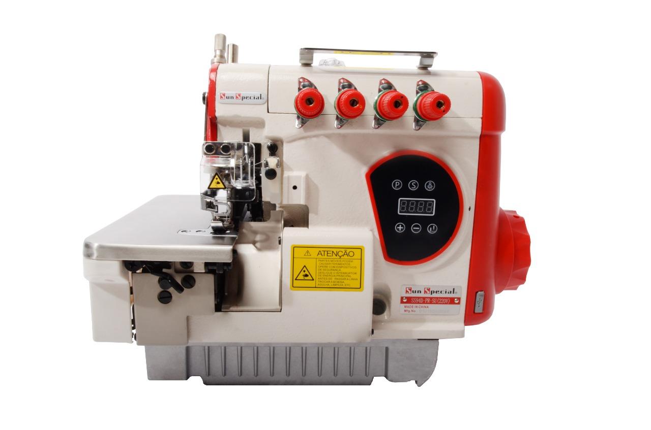 Máquina Costura Overloque Ponto Cadeia SUN SPECIAL Direct Drive SS9-4D