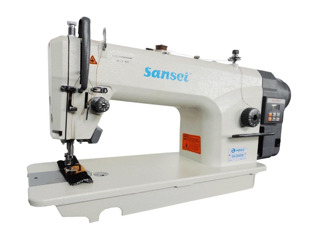 Máquina Costura Reta Industrial Sansei Lançadeira Grande SA-G9000B