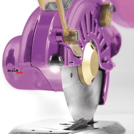 """Máquina de Cortar Tecidos Direct-Drive c/ Disco Octogonal de 4"""" - Nova tecnologia! WESTPRESS"""